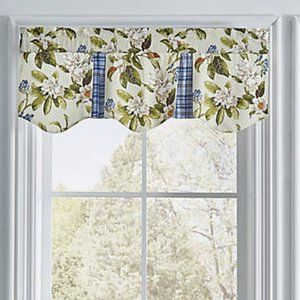 NEW Waverly Live Artfully Floral Window Valance